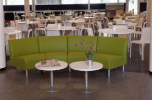 Restyling-zitbanken Cursuscentrum-Domstad nu-lichtgroen